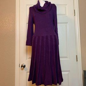 Liz Claiborne Dress Purple XL